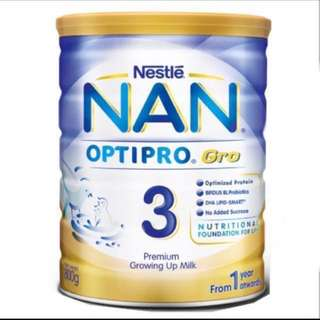 Nestle NAN 3 Optipro Gro x 2