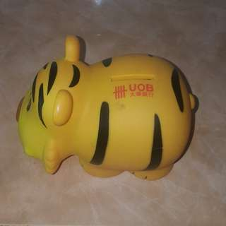 UOB tiger coin bank