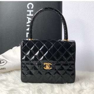 Authentic Chanel Top Handle Bag