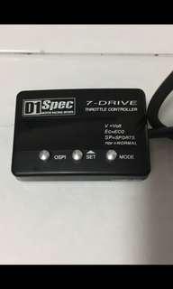 D1 spec 7Drive throttle control