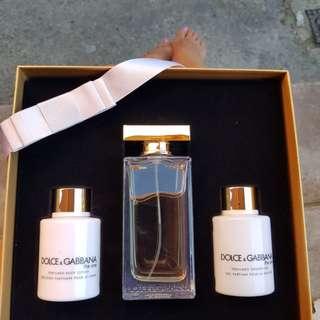 Dolce Gabana the one perfume gift set