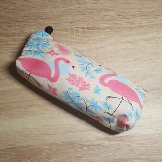 Pencil Case -Flamingo