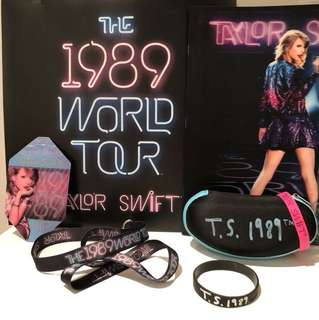 Taylor Swift 1989 Tour VIP Items