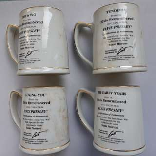 Elvis Presley Mug Collection