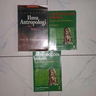 Preloved Buku Bahan Kuliah Antropologi