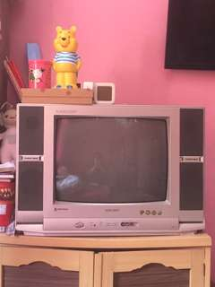 Tv sharp 21 inch tv tabung