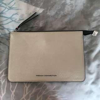 Silver Clutch/Wallet