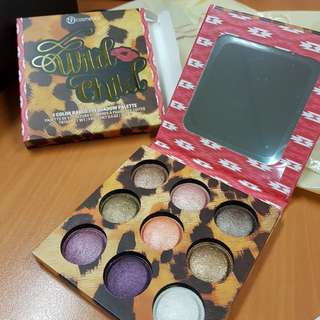 BH Cosmetics Wild Child 9 colour baked eyeshadow palette