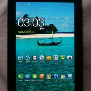 Samsung Galaxy Tab Sim card