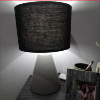 BLACK LAMPSHADE without bulb
