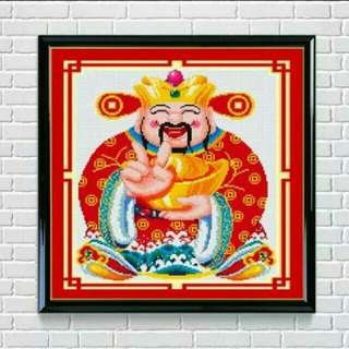 Sale! Fortune God Diamond Cross-stitch Kit