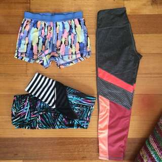 Running wear $25 for all