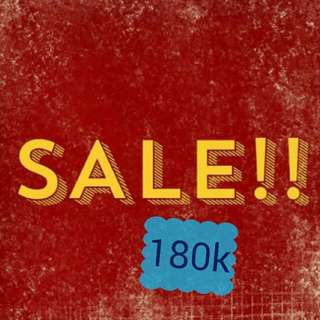 Sale this items