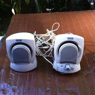 Altec Lansing speakers. In good working condition.