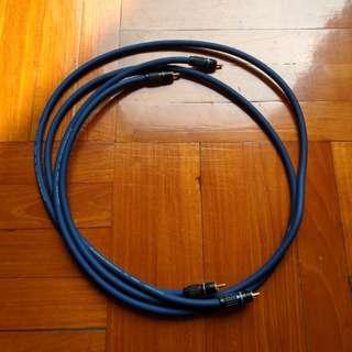 音響訊號線 Audio signal cable