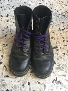 Doc(Dr) Martin Black Boots