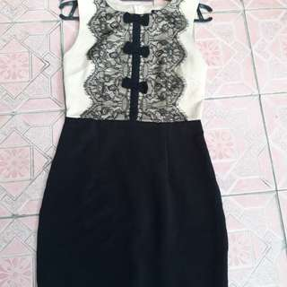 Dress pita brukat