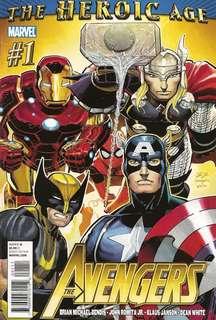 Avengers v4 #1-5, 8, 10, 12-15, 17, 20-23, 27-33