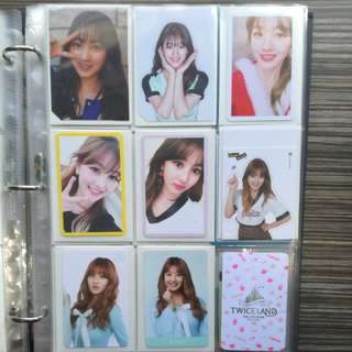 WTS TWICE Jihyo Photocards