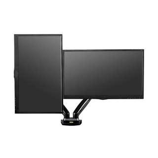 "Gas strut Dual Desktop Mount for displays up to 27"" WhatsApp 8778 1601"