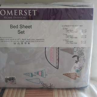 Somerset bed sheet
