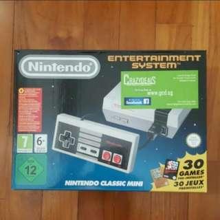 Nintendo NES Classic Mini with Extra Original Controller