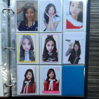 WTS TWICE Tzuyu Photocards