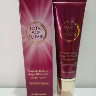 Etude House Total Age Repair Wrinkle Reduce Royal BB Cream 50g SPF45/PA+++