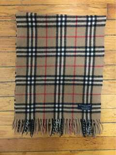 Vintage BURBERRY Scarf mrrp $500