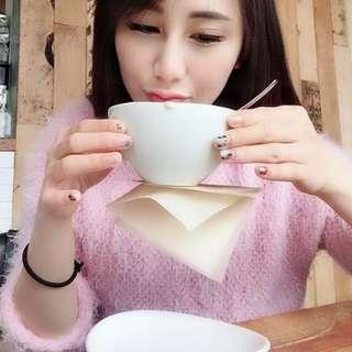韓國帶回粉色毛衣