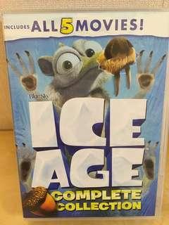 冰河世紀 ICE AGE 1-5集 珍藏版5DVDs 正版