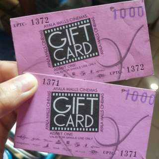 Ayala malls cinema tickets