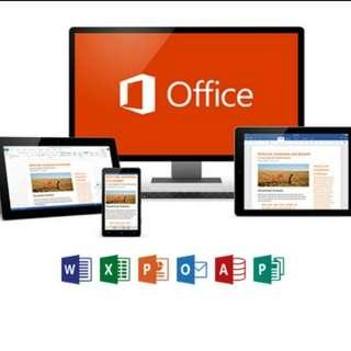 ⭐ 正版 - Office 365 - 不需每年續期