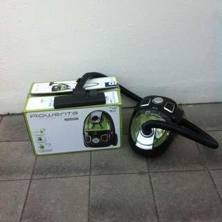 Rowenta Compacteo Ergo Cyclonic Model RO5342 1200W bagless vacuum cleaner.