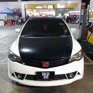 Honda Civic Fd 1.8 for rent