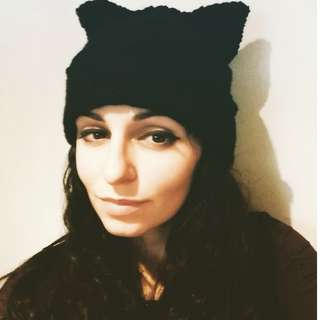 Handmade Snuggle Wear Kitty Cat Hat