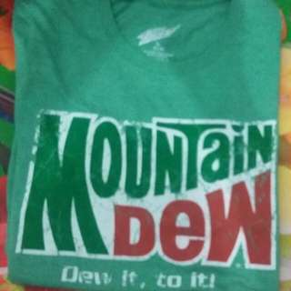Tshirt MOUNTAIN DEW made in mexico