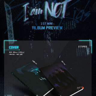 [Pre-Order] Stray Kids I am NOT (1st Mini Album)
