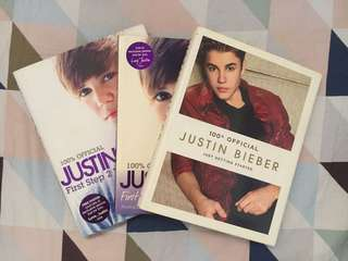 Justin Bieber: 100% Official Books