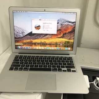 "99%New India Apple MacBook Air 13"" 256GB 8GB 1.8Ghz i5 silver, warranty date 2-12-2018"