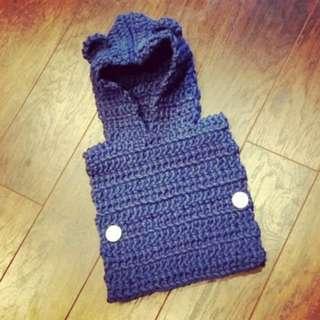 Handmade Snuggle Wear Baby Bear Vest