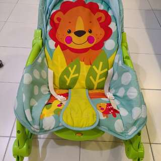 Baby toddler rocking arm chair
