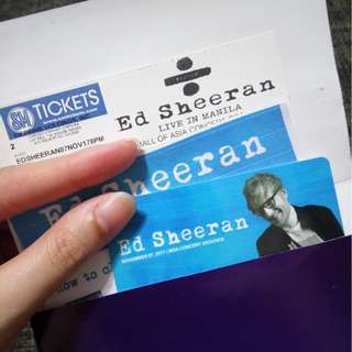 Ed Sheeran Patron C Ticket
