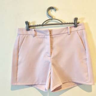 Zalora Pink Basic Shorts