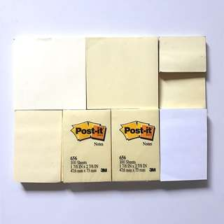 New and 2nd hand Post-its bundle with holder