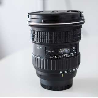 Tokina 11-16mm f/2.8 AT-X Pro (IF) DX  (Nikon Mount)