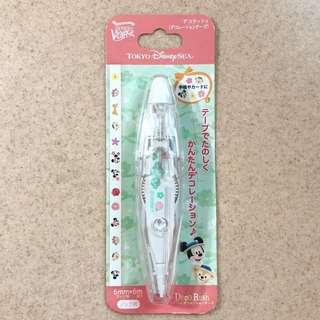 絕版 東京迪士尼海洋 Duffy Shelliemay卡通圖案塗改帶