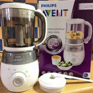 Philips Avent 4in1 Blender (Brand New In Box)