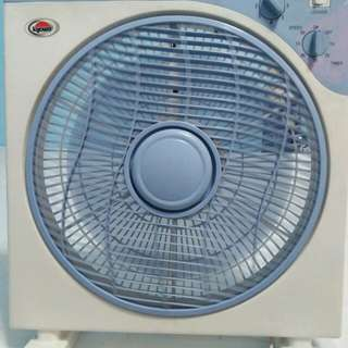 Square type stand fan