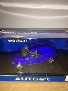 1/43 Chrysler Panel Cruiser. Met Blue. AutoArt